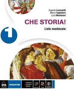 Volume 1 L'età medievale + Alla scoperta della Storia Antica + Atlante Geo-Storia + Cittadinanza e Costituzione + eBook + Quaderno Operativo 1