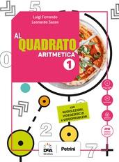 Aritmetica 1 + Geometria 1 + Quaderno Plus 1 + Formulario plastificato + Tavole numeriche + Easy eBook (su dvd) + eBook