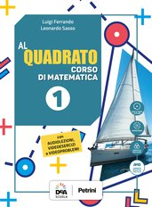 Volume 1 + Quaderno 1 + Quaderno Plus 1 + Formulario plastificato + Tavole numeriche + Easy eBook (su dvd) + eBook