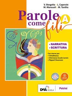 Volume A Narrativa e Scrittura + Grammatica +  INVALSI.ITA con CD rom + eBook