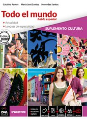 """Libro alumno 2 + Cuaderno 2 + Repasando todo 2 + Easy eBook (su DVD) + eBook + Suplemento Lengua (civiltà e microlingua) + eBook di narrativa """"Guzmán de Alfarache"""" di M. Alemán"""