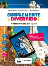 Libro del alumno y cuaderno 3 + En mapas 3 + Easy eBook (su dvd) + eBook + file audio mp3