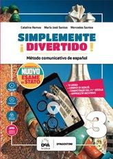 Libro del alumno y cuaderno 3 con Esame di stato Español Nuevo + En mapas 3 + Easy eBook (su dvd) + eBook + file audio mp3