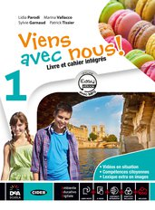 Livre élève et cahier d'exercices 1 + Cartes mentales 1 + Grammaire + Easy eBook 1 (su dvd) + eBook + cd audio mp3