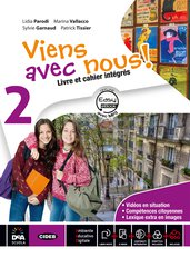 Livre élève et cahier d'exercices 2 +  Cartes mentales 2 +Easy eBook 2 (su dvd) + eBook + cd audio mp3