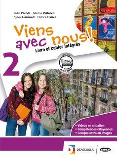 Livre élève et cahier d'exercices 2 +  Cartes mentales 2 +Easy eBook 2 (su dvd) + eBook + cd audio mp3