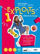 Volume 1 Livre de l'élève et cahier + Autour des compétences + Easy eBook (su DVD) + eBook