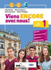 Livre de l'élève et cahier 1 + Cartes mentales 1 +  Culture en poche + Grammaire + Easy eBook (su DVD) + eBook