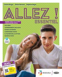 Livre de l'élève et cahier Essentiel + Examens + Grammaire pour tous + Parler culture en poche + Easy eBook (su DVD) Essentiel + eBook EssentIel