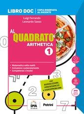Libro DOC Aritmetica 1 + Libro DOC Geometria 1 + Quaderno Plus 1 + Formulario plastificato + Tavole numeriche