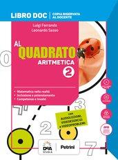 Libro DOC Aritmetica 2 + Quaderno Plus 2 + Libro DOC Geometria 2