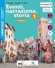 LIBRO DOC Volume 1 + LIBRO DOC Strumenti per una didattica inclusiva 1 + Atlante di Cittadinanza + Storia antica