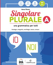 Volume A Morfosintassi+ Volume C Quaderno operativo + Grammatica facile +Easy eBook (su dvd) + eBook