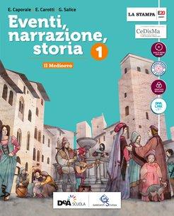 Volume 1 +  Strumenti per una didattica inclusiva 1 + Storia Antica + Atlante di Cittadinanza + Easy eBook  (unico su DVD) + eBook
