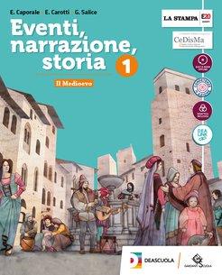 Volume 1 +  Strumenti per una didattica inclusiva 1 + Atlante di Cittadinanza + Easy eBook (unico su DVD) + eBook